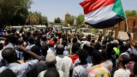 Proteste di piazza in Sudan