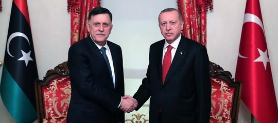 Serraj con Erdogan