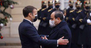 Emmanuel Macron riceve Al-Sisi