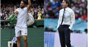 I due eroi del fine settimana: Berrettini e Mancini